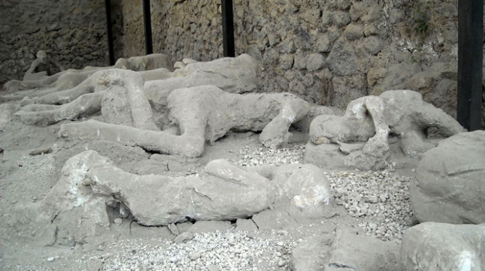 Calchi in mostra a Pompei
