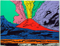 Warhol, Napoli ed il Vesuvius